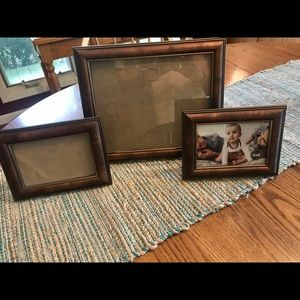 Picture frame set 8x10 4x6 like new!